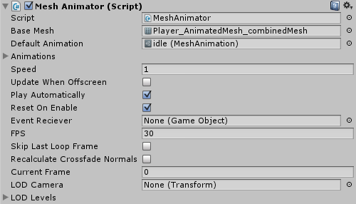 Mesh Animator Documentation